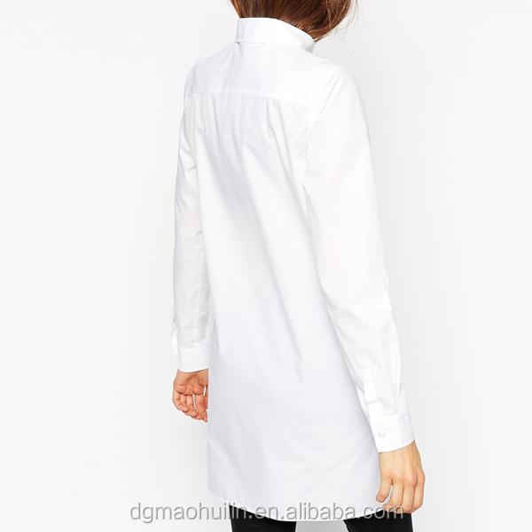 Китай оптовая торговля одежда для фитнеса женщин с длинным рукавом мужская классическая рубашка белые дамы длинные случайные рубашки