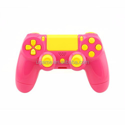 For PS4 Pink And Yellow Replacement Case Shell For PlayStation 4 DualShock 4 Controller