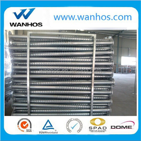 76X1600 Helical Pile for Solar Mounting System