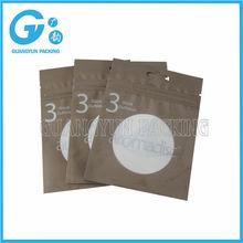 transparent plastic aluminum foil bag for packing USB