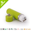 Power bank custom logo and mini charger battery with colorfull led light