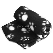 Pet Dog Cat Puppy Kitten Soft Blanket Doggy Warm Paw Print mat