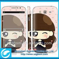 crystal mobile phone battery skin sticker