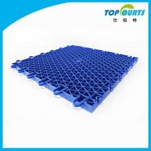 Rebound Rate:97% outdoor pp interlocking plastic basketball flooring