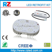 ETL /DLC led retrofit kit, retrofit led canopy light/gas station led canopy light metal halide lamp without ballats