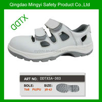 Light shoes antistatic work boot white summer safety shoes