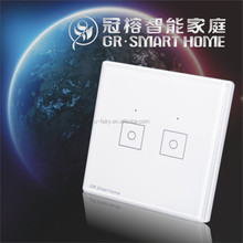 2015 newest Android/ios phone remote control wireless light switch without neutral wire for z-wave smart home