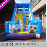 2015 children cheap inflatable water slides/ cheap water slide inflatable