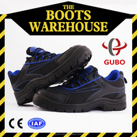 D-9100i Cheap Factory Manufacture Van Flat Lab Safety Shoes