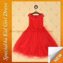latest children frocks designs/kids beautiful model dresses/weding dress SFUBD-935