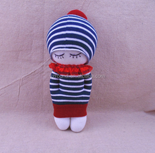 DIY girl doll sock knitted toy valentines day gift best soft toy