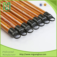 high quality pvc coated long thick wooden broom stick for Egypt market