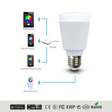 wifi smart led bulb 7w e27 | wifi smart led ligth bulb with CE&FCC&RoHs certificates
