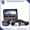 truck rear view camera system 7pin metal trailer cable connector truck wire