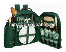 Big capacity stylish special Polyester picnic bag for 4 person