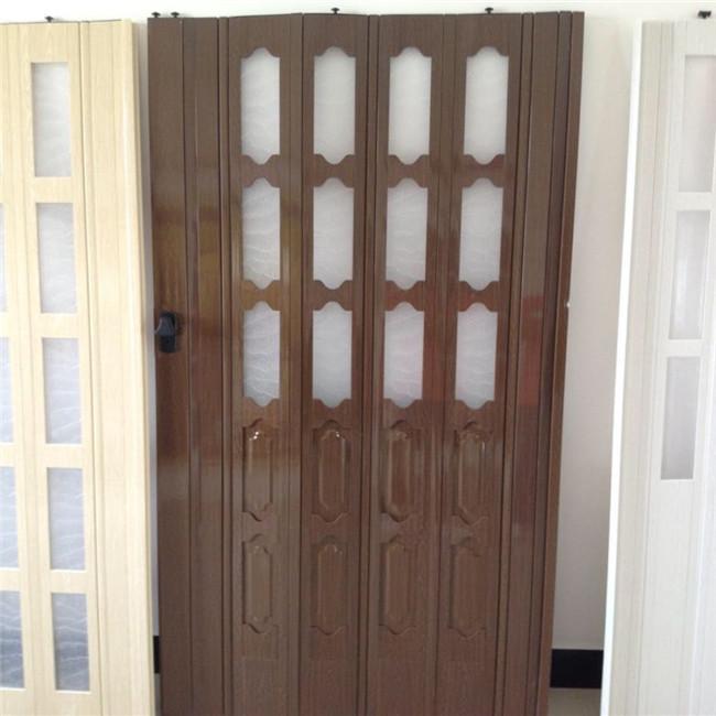 2015 new design pvc folding door for interior decoration for New door design 2015