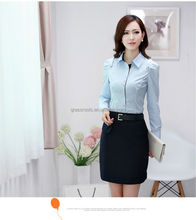 Women Gender and OEM Service Supply Type new design ladies blouse