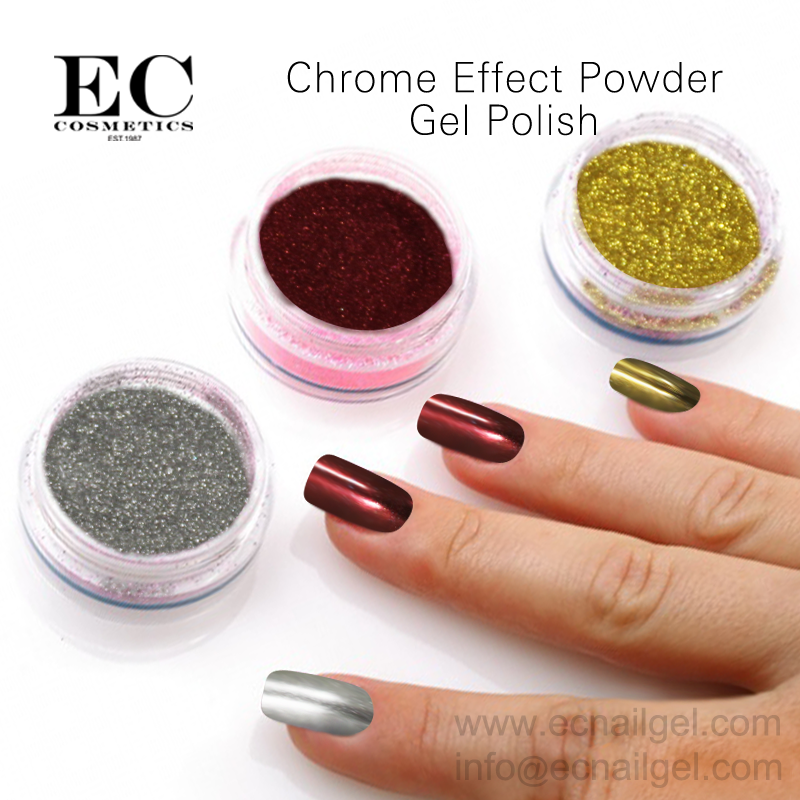 Wholesale Chrome Mirror Powder Pigment Powder Metallic Gel