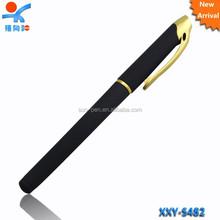 New arrival golden ring plastic ballpoint pen