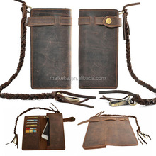 new arrival real leather wallet for iphone BL-001