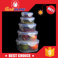 Antique style attractive vegetable shaped plastic containers