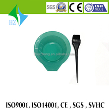Chinese products wholesale salon hair dye bowl/professional hair coloring tool set hair dyeing bowl and brush