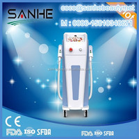 Two Handpieces SHR Fast Hair Removal / Elight Hair Removing Machine / IPL SHR950B laser treatment for skin whitening