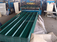 color corrugated steel sheet plate/ galvanized corrugated steel 0.15mm-0.6mm