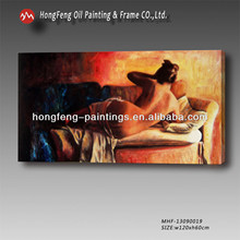 Hot sexy nude body oil painting MHF-130900019