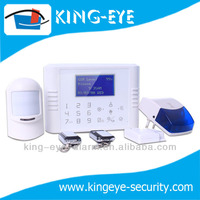 Most popular gsm & pstn touch screen wireless alarm home automation with LCD display multi language menu