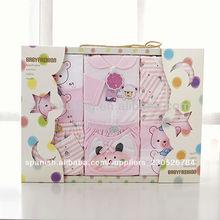 caliente venta de impresión de algodón de dibujos animados para niños ropa de bebé conjunto de fábrica al por mayor