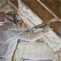 2B fireproof spray polyurethane wall thermal insulation foam