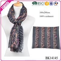 Digital Print Scarf, Cashmere Scarves Custom Printing