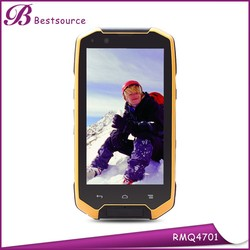 New 4.7inch ip68 rugged waterpoof 3g wifi gps dual sim android phone