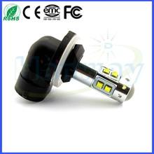 50W 881 H27W Chip High Power LED Car Fog Light LED Headlight Car Daytime Running Light Bulb 10pcs 5w chips LAMP 12V 24V