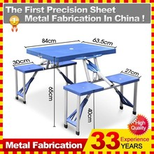 LOW PRICE PLASTIC FOLDING FOLDABLE TABLE TOP AND CHAIR OF DINING IN CHINA