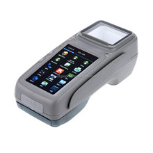 4.3 inch touch screen pos system all in one with integrated printer and MSR prepaid card payment system----Gc028+