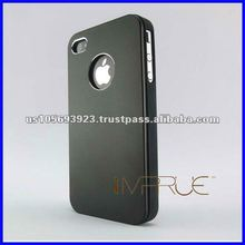 Matte Aluminum hard case for Appple iphone 4G/4S 10 colors