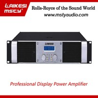 CA+ Series professional power amplifier with display/screen