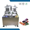 Operation specifications and Teflon glue conatainer cheese wafer box gluing machine