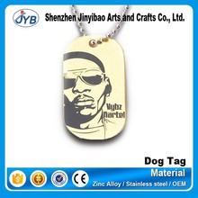 metal brand accessory chain hang bag tag for wholesale