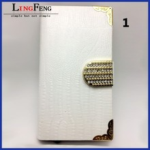 Mobile phone accessories factory in china wholesale leather flip case for iphone 5