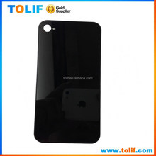 Mobile phone replacment back glass battery cover for apple iphone 4 4g 4s back cover housing original new