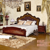 new design chiniot woode furniture bed sets