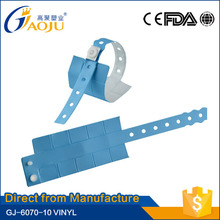 Free sample available promotional gift china waterproof id bracelets