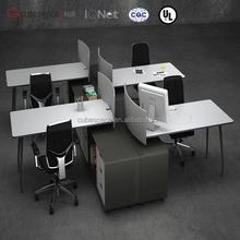 conference table sit stand desk aluminum alloy desk folding computer