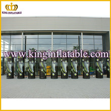 Illuminated inflatable advertising tube pillar column advert event LED inflatable