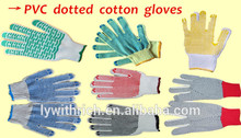 Hand Winter rubber working gloves