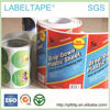 full color printing high quality mirror coated paper labels