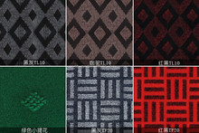 lower price double colors jacquard carpet from laiwu